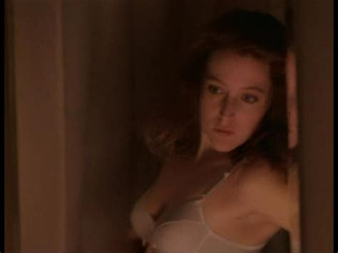 Naked Gillian Anderson in The X Files