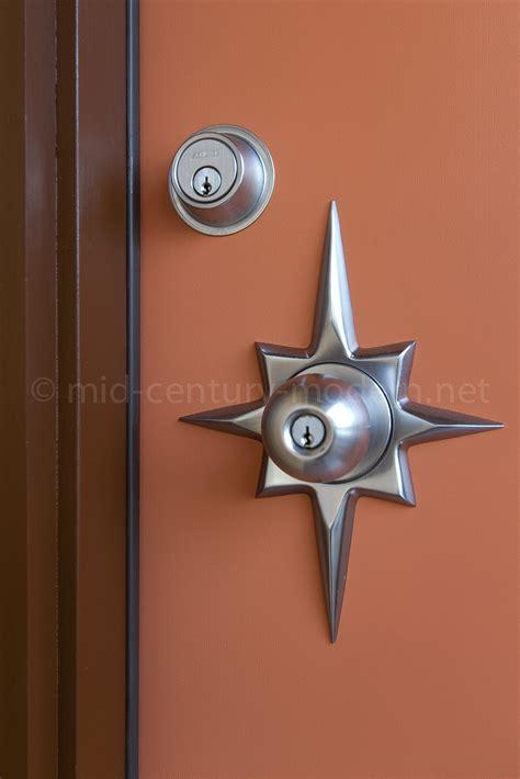 mid century door hardware therma tru pulse modern door mid century modern