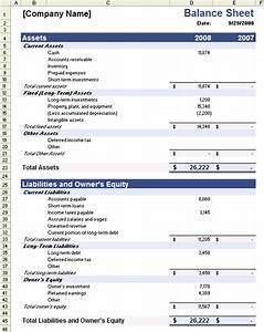 Balance sheet template new calendar template site for Corporate balance sheet template