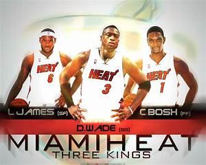 Miami Heat 3 Kings Wallpaper | Basketball Wallpapers at ...