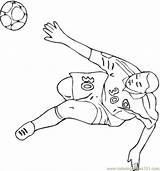 Coloring German Football Player Germany Coloringpages101 sketch template