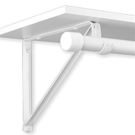 closet pro heavy duty shelf rod bracket by closet pro at