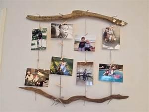 Cadre Photo Pele Mele Bois : p le m le photo en bois flott ideco pinterest photo mural ~ Melissatoandfro.com Idées de Décoration