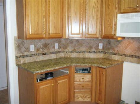 subway tile kitchen backsplash 4x4 noce travertine tile backsplash designs for kitchens