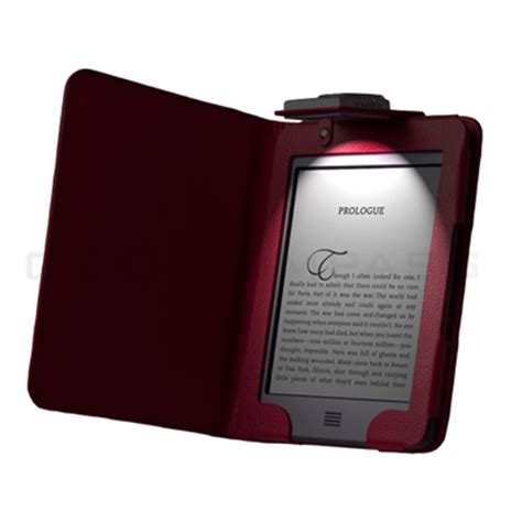 kindle touch cover with light kindle touch 4 4th gen led light lighted leather