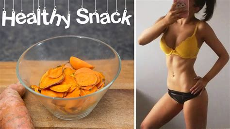 Weight Loss Healthy Snack Sweet Potato Chip Recipe Youtube
