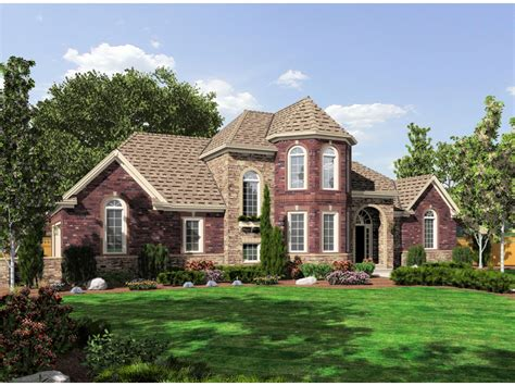 Cloverhurst European Home Plan 065d-0313
