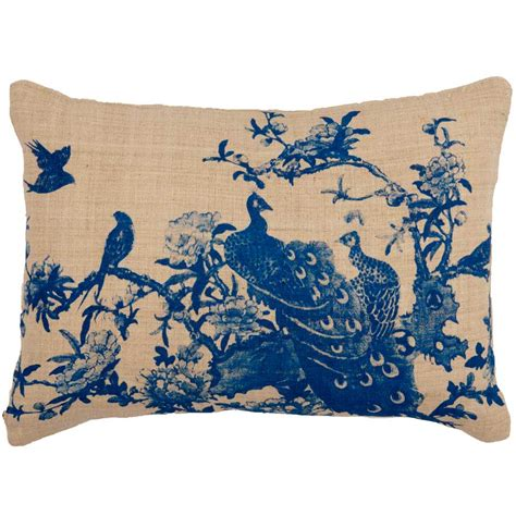 new peacock cushion image 2 by the bedroom company