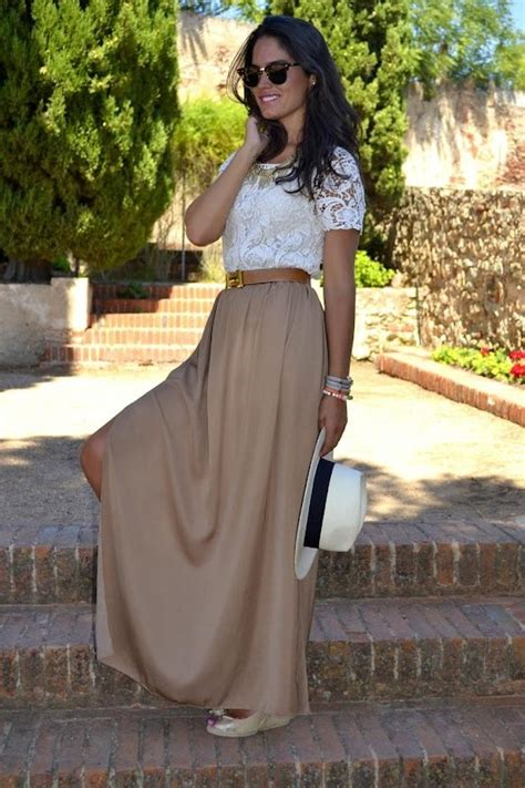 Ways to Wear a Maxi Skirt | thesassylife
