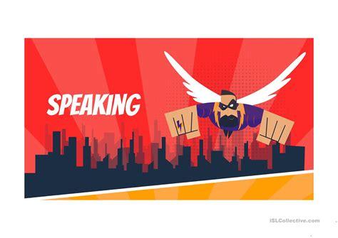 speaking  english esl powerpoints