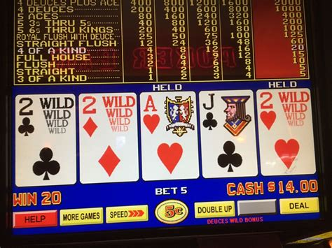 122916 Thursday Afternoon Nickel Video Poker On First
