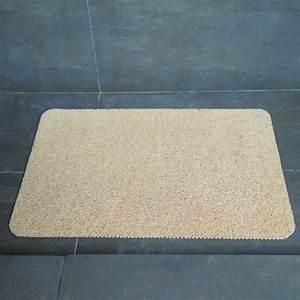 tapis de bain pour douche arrondie tapis antid rapant With porte de douche coulissante avec tapis salle de bain antidérapant leroy merlin