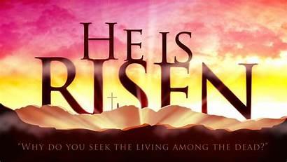 Risen He Wallpapers Jesus Easter Christ Christian