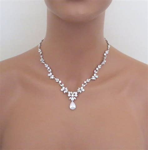 Bridal Jewelry by Bridal Jewelry Set Wedding Necklace Set Bridal Necklace