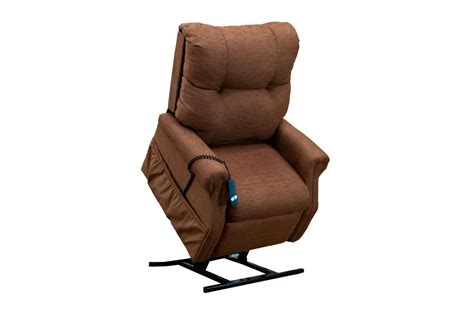 medlift two way reclining lift chair dawson brown 1155dbr