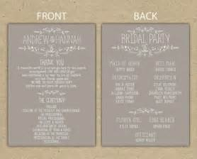 wedding fan program template free how can wedding programs possibly be bird food