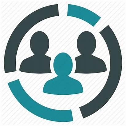 Icon Demography Presentation Analytics Diagram Report Symbol