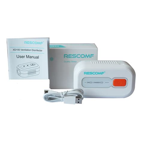 automated CPAP cleaner and sanitizer-Rescomf technology