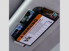 ZIQIAO Temporary Car Parking Plate Phone Number Card