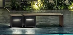 Banc Exterieur Design : luminaires singuliers design et signed luminaires nedgis ~ Teatrodelosmanantiales.com Idées de Décoration