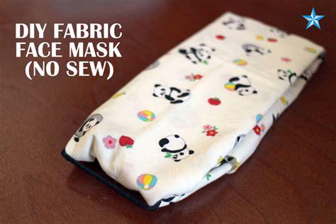 fabric face mask  touching