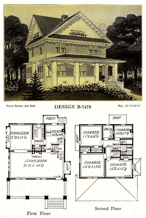 American Foursquare Floor Plans Modern by Four Square House Plans Craftsman Foursquare House Plans