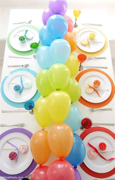 cool balloon party decor ideas