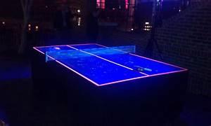 Very cool black light ping pong table! | Keep Calm... Ping ...