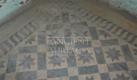 rare collection  ancient encaustic cement tiles  ancient surfaces