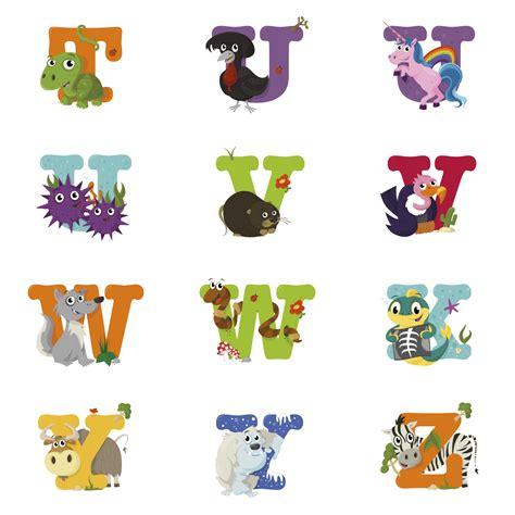 animal alphabet  behance