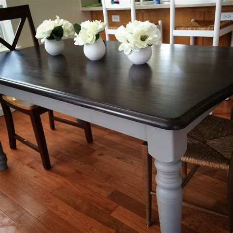 is chalk paint durable for kitchen table 25 best ideas about refinished table on