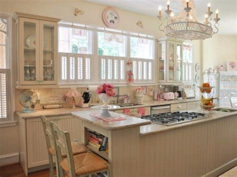 Kitchen Colour Scheme Ideas - 25 charming shabby chic style kitchen designs godfather style
