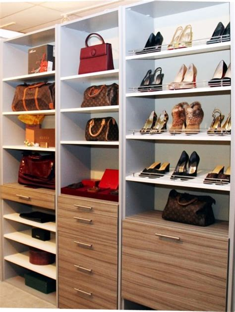 Closet Shoe Organizer And Bag  Designs Ideas And Decors