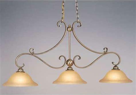 Monrovia Antique Brass Three-light Kitchen Island Light