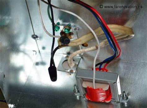 branchement electrique cuisine installer une hotte de cuisine