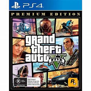 Grand Theft Auto V Premium Edition (GTA 5) (PS4) – GAMORY