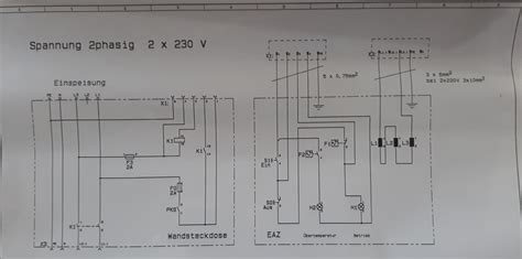 An Schematic 3 Wire Wiring Diagram by 3 Phase 380 V To 3 Phase 230 V Electrical Engineering
