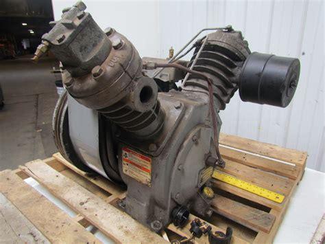 ingersoll rand 71t2 type 30 2 stage air compressor 10 15 hp 40 55 cfm 175psig ebay