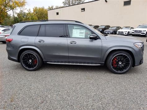 *does not include $1,050 destination & delivery charge. New 2021 Mercedes-Benz AMG GLS 63 4MATIC SUV | Gray T21-279