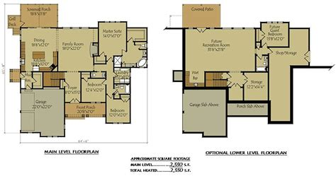 Two Story House Plans With Basement Beautiful Front Chalet