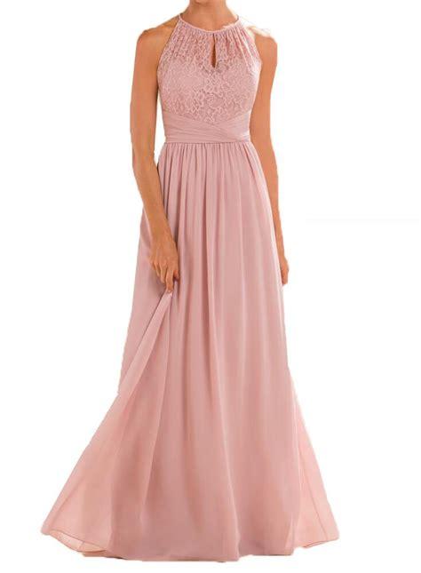 long blush bridesmaid dresses amazon com