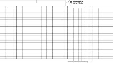 bureau inspection automobile form vs 1074sd vehicle inspection record york free