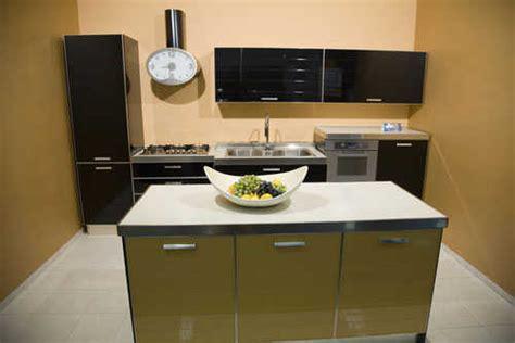 modern small kitchen designs 2012 reposteros para cocinas peque 241 as 161 soluciones ideales 9259