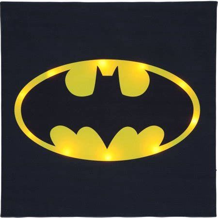 batman logo light up wall quot quot walmart