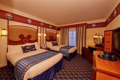 chambre sequoia lodge les hôtels de disneyland 4 toutes voiles dehors