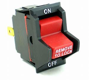 Planer On  Off Switch