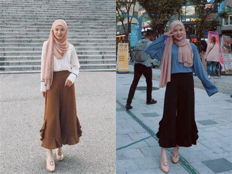 outfit korean style hijab tutorial hijab terbaru