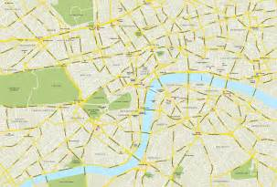 Central London Map