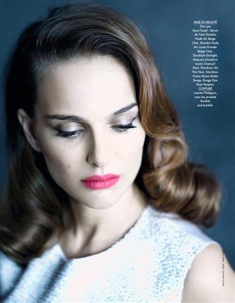 Natalie Portman For Elle France Mathieu Cesar