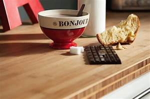 Plan De Travail Bambou : quel plan de travail pour quel style de cuisine darty ~ Melissatoandfro.com Idées de Décoration